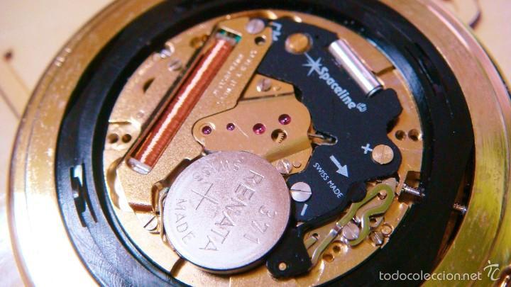 Relojes de bolsillo: REGENT HABMANN EXTRA-PLANO SWISS MADE CHAPADO 18K - CALENDARIO - Foto 32 - 59942115