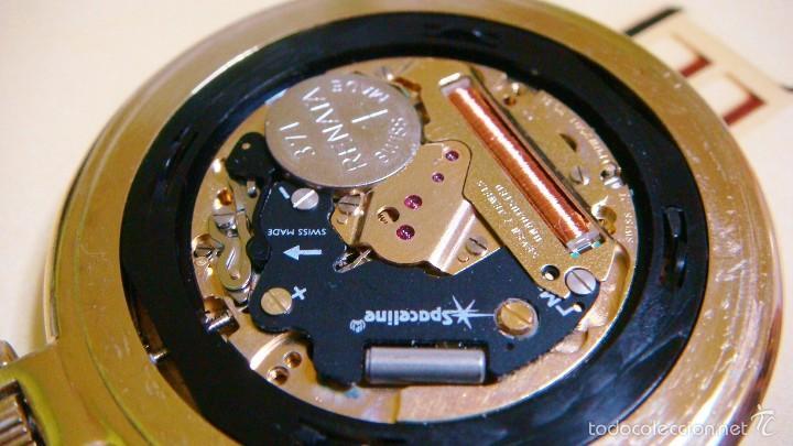 Relojes de bolsillo: REGENT HABMANN EXTRA-PLANO SWISS MADE CHAPADO 18K - CALENDARIO - Foto 34 - 59942115