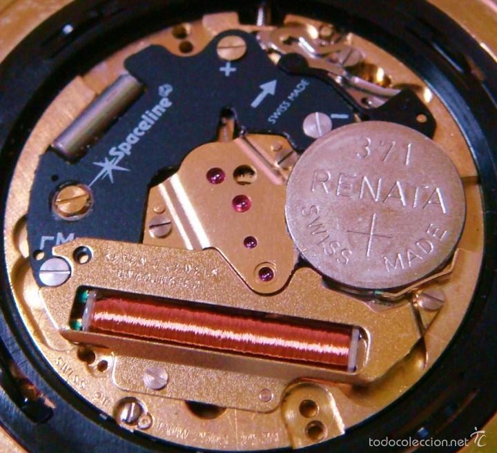 Relojes de bolsillo: REGENT HABMANN EXTRA-PLANO SWISS MADE CHAPADO 18K - CALENDARIO - Foto 35 - 59942115