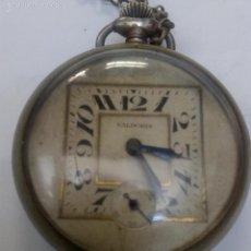 Relojes de bolsillo: INTERESANTE RELOJ DE BOLSILLO VALDORIS. Lote 60254983