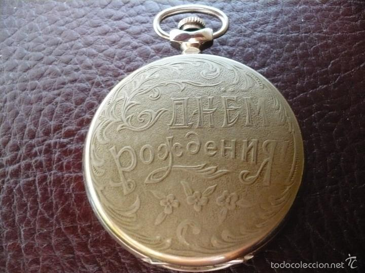 Cumpleaños Rusia Feliz De Reloj Bolsillo Fundido ImitHierro RusiaNos Urss OPkTZiuX