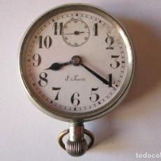 Relojes de bolsillo: RELOJ DE BOLSILLO 8 JOURS 50MM.DIAMETRO 98GR. 2 TAPAS POSTERIORES FUNCIONANDO. Lote 61487807