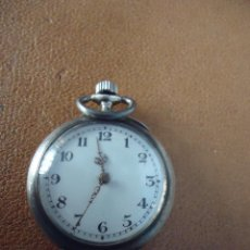 Relojes de bolsillo: RELOJ DE BOLSILLO EN PLATA DE LEY 800 MARCA UNIVERSAL. FABRICACIÓN SUIZA HACIA 1906. Lote 62144592