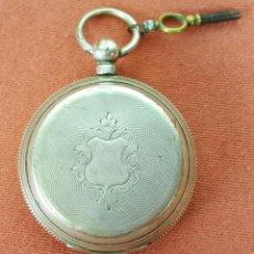 Relojes de bolsillo: RE385. RELOJ DE BOLSILLO. GIRARD GENEVE. 15 RUBIS. PLATA 800. SUIZA. CIRCA 1920.. Lote 62592088