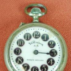 Relojes de bolsillo: RE390. RELOJ DE BOLSILLO. MARCA VENCEDOR. MARQUE DEPOSEE. SUIZA. SIGLO XX. . Lote 62610272