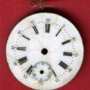 Relojes de bolsillo: ESFERA DE RELOJ DE BOLSILLO, PORCELANA , 3,70 CMS. , ORIGINAL, M3. Lote 63117552