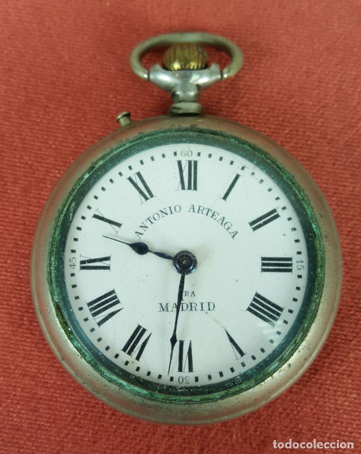 Re400 Reloj De Bolsillo Caja En Acero Inoxida Comprar