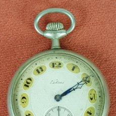 Relojes de bolsillo: RE402. RELOJ DE BOLSILLO TOBIAS. LIVERPOOL. CAJA EN ACERO INOXIDABLE. SIGLO XX. . Lote 63318192