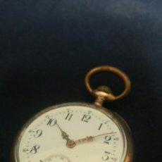 Relojes de bolsillo: RELOJ DE BOLSILLO DE PLATA. Lote 59139368