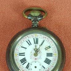 Relojes de bolsillo: RE407. RELOJ DE BOLSILLO. CAJA EN ACERO INOXIDABLE. SISTEMA ROSCOPF. SIGLO XX. . Lote 63776123