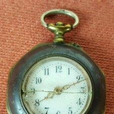 Relojes de bolsillo: RE414. RELOJ COLGANTE. FORMA EXAGONAL. MODERNISTA. CIRCA 1940. . Lote 63902959