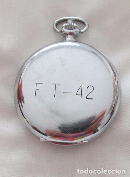 Relojes de bolsillo: RELOJ DE BOLSILLO CRONO CRONOGRAFO ANTIGUO MILITAR EXCELSIOR PARK - Foto 4 - 64305707