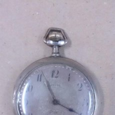 Relojes de bolsillo: RELOJ DE BOLSILLO CARTEL, CAJA DE PLATA, CARGA MANUAL. Lote 64457287