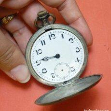 Relojes de bolsillo: RELOJ 3 TAPAS DE PLATA. Lote 64540107