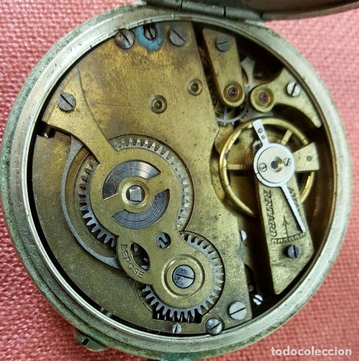 Relojes de bolsillo: RE418. RELOJ DE BOLSILLO. CRONOMETRO OBRERO. SISTEMA ROSKOPF. SIGLO XIX. - Foto 5 - 64542115