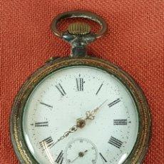 Relojes de bolsillo: RE419. RELOJ DE BOLSILLO. SISTEMA ROSKOPF. FRANCIA. MODERNISTA. SIGLO XX. . Lote 64543839