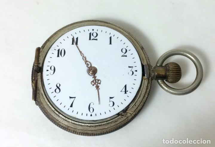 Reloj Antiguo De Bolsillo Non Magnetic Con Dos Comprar Relojes
