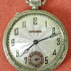 Relojes de bolsillo: RE437. RELOJ DE BOLSILLO. MARCA O'MAIRE. USONA. SISTEMA ROSKOPF. SIGLO XX. . Lote 65741506