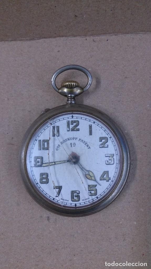 RELOJ DE BOLSILLO ROSKOPF PATENT 1ª (Relojes - Bolsillo Carga Manual)