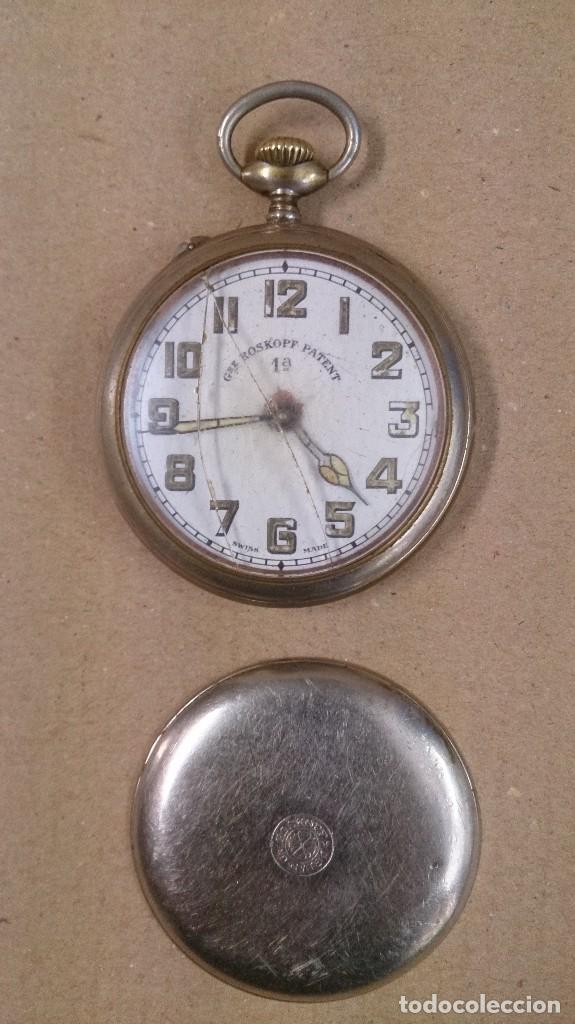 Relojes de bolsillo: Reloj de bolsillo Roskopf patent 1ª - Foto 2 - 65749166