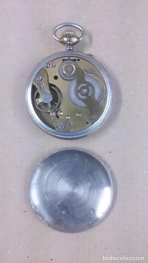 Relojes de bolsillo: Reloj de bolsillo Roskopf patent 1ª - Foto 3 - 65749166