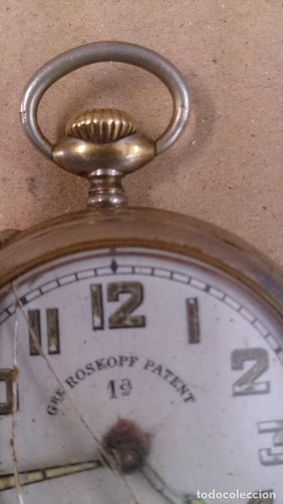 Relojes de bolsillo: Reloj de bolsillo Roskopf patent 1ª - Foto 4 - 65749166