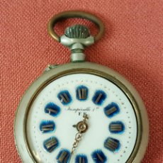 Relojes de bolsillo: RE445. RELOJ DE BOLSILLO. INSUPERABLE 1ª. SISTEMA ROSKOPF. PRINCIPIOS SIGLO XX.. Lote 153978628