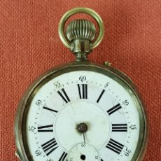 Relojes de bolsillo: RE448. RELOJ DE BOLSILLO. SISTEMA ROSKOPF. PARA RESTAURAR O PIEZAS. SIGLO XX. . Lote 66672718