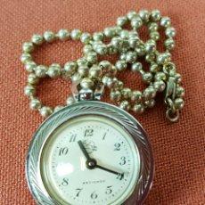 Relojes de bolsillo: RE450. RELOJ COLGANTE. PEGASO. CARGA MECANICA. CRISTALES CON AUMENTO. SIGLO XX. . Lote 66741866