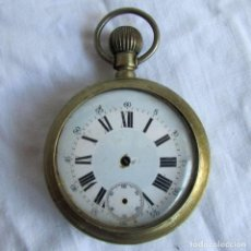 Relojes de bolsillo: RELOJ DE BOLSILLO HORA EXACTA PARA PIEZAS. Lote 66777838