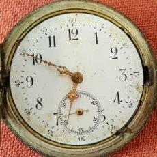 Relojes de bolsillo: RE454. RELOJ DE BOLSILLO. CAJA EN PLATA 800. SUIZA. SIGLO XX. . Lote 66805054