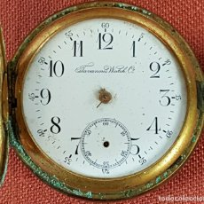 Relojes de bolsillo: RE455. RELOJ DE BOLSILLO. TAVANNES WATCH. CAJA EN METAL DORADO. SIGLO XX. . Lote 66806210