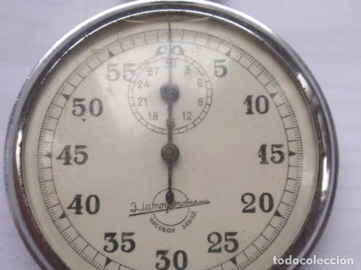Relojes de bolsillo: Cronógrafo sovietico .made in URSS.FUNCIONA - Foto 2 - 67003090