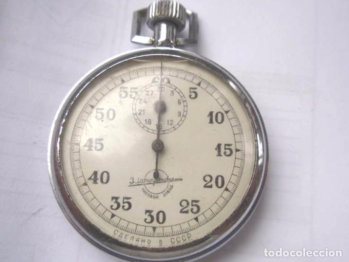 Relojes de bolsillo: Cronógrafo sovietico .made in URSS.FUNCIONA - Foto 3 - 67003090