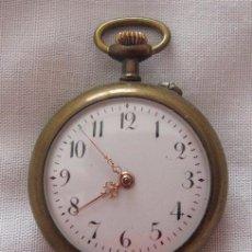 Relojes de bolsillo: RELOJ DE BOLSILLO ANTIGUO DAMA 6 RUBIES. Lote 67432969