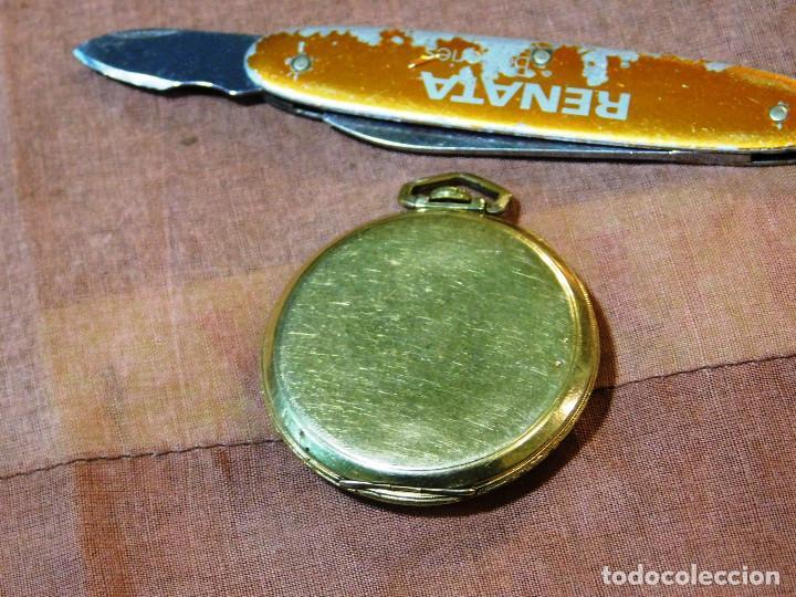Relojes de bolsillo: PRECIOSO RELOJ BOLSILLO WALTHAM AMERICANO GOLD FILLED ORO 14 KTS - Foto 4 - 67494041