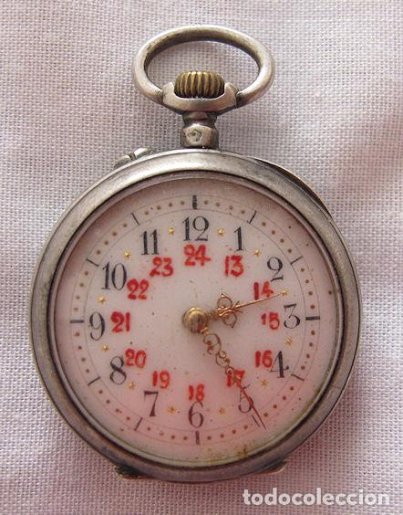RELOJ DE BOLSILLO ANTIGUO LEROUX (Relojes - Bolsillo Carga Manual)