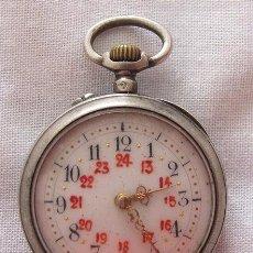 Relojes de bolsillo: RELOJ DE BOLSILLO ANTIGUO LEROUX. Lote 67498801