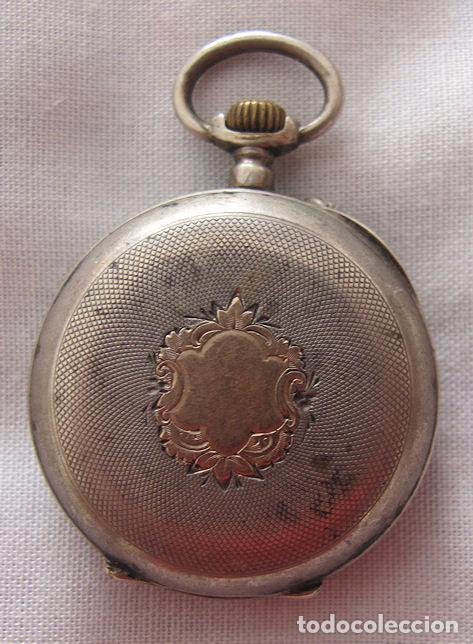 Relojes de bolsillo: RELOJ DE BOLSILLO ANTIGUO LEROUX - Foto 3 - 67498801