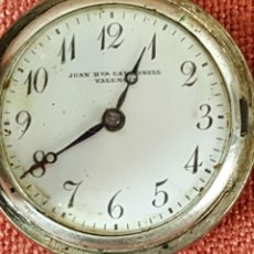 Relojes de bolsillo: RE466. RELOJ COLGANTE. RELOJERIA JUAN BAUTISTA CARBONELL. VALENCIA 1930. . Lote 67823209