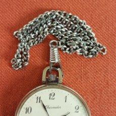 Relojes de bolsillo: RE470. RELOJ DE BOLSILLO DE CUARZO THERMIDOR. FRANCIA. SIGLO XX.. Lote 67832753
