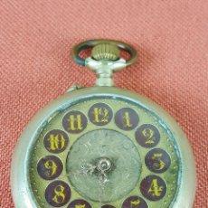 Relojes de bolsillo: RE471. RELOJ DE BOLSILLO. SISTEMA ROSKOPF. CAJA EN METAL. PRINCIPIOS SIGLO XX. . Lote 67840229