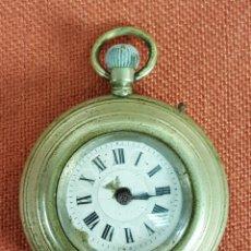 Relojes de bolsillo: RE479. RELOJ DE BOLSILLO. CAJA EN METAL PLATEADO. MEDIADOS SIGLO XX. . Lote 67907965