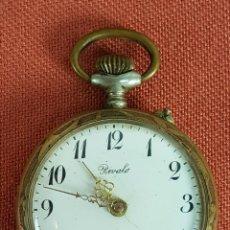 Relojes de bolsillo: RE482. RELOJ DE BOLSILLO. RIVALO, SISTEMA ROSKOPF. CAJA EN METAL. SIGLO XX. . Lote 67917637
