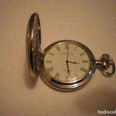 Relojes de bolsillo: RELOJ BOLSILLO MARCA STEVEL. Lote 67947357