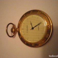 Relojes de bolsillo: RELOJ BOLSILLO MARCA CASSALI COLOR DORADO MUY ORIGINAL. Lote 67949269