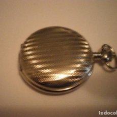 Relojes de bolsillo: RELOJ BOLSILLO MARCA BARGELLO COLOR PLATA NUEVO. Lote 67954677