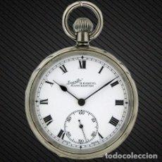 Relojes de bolsillo: W0059 - RELOJ DE BOLSILLO EVERITE -MANCHESTER DEL AÑO 1900 APROXIMADAMENTE. Lote 68015153