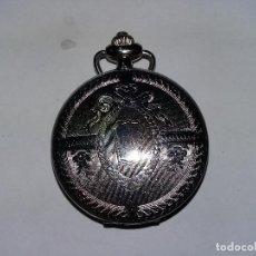 Relojes de bolsillo: RELOR BOLSILLO SCHARZ PLATEADO 4 CM. Lote 68504845
