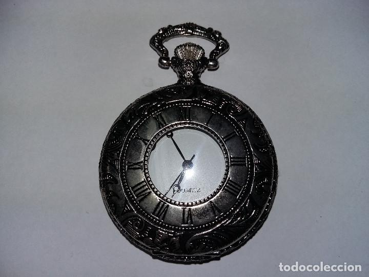 RELOR BOLSILLO PLATEADO 5 CM (Relojes - Bolsillo Carga Manual)